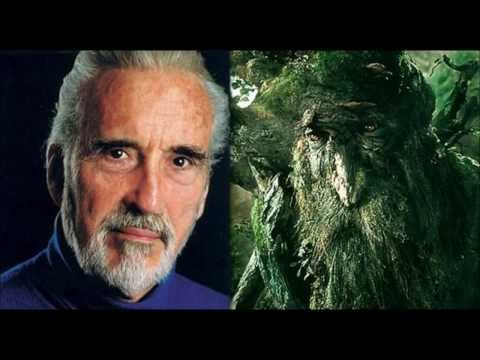 Sir Christopher Lee sings Treebeard´s Song
