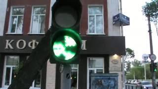 Сигнал светофора радиация   Traffic signal radiation