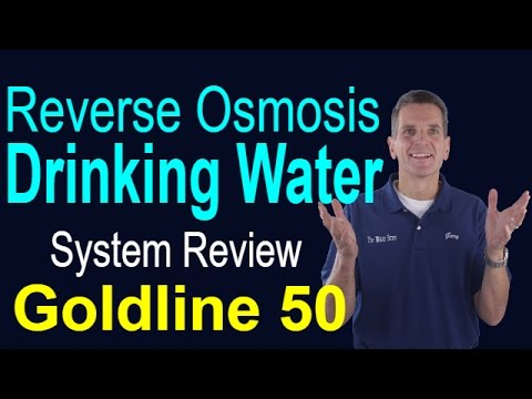 RO Drinking Water System Review  Goldline 50