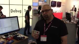 Total Phase Demonstrates Their Power Protocol Analyzer At Embedded World 2014