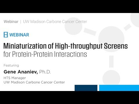 Miniaturization of High-throughput Screens for Protein-Protein Interactions