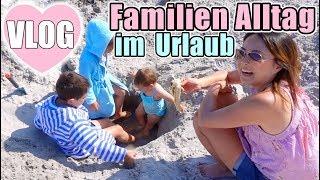 Familien Urlaub mit 3 Kindern 😍 Lili stürmt die Wellen | Sonne Strand Meer | Roomtour | Mamiseelen