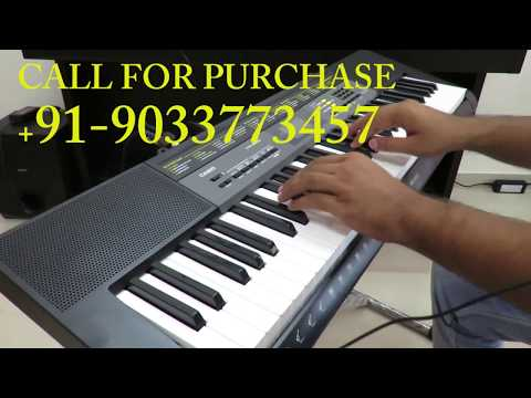 CASIO CTK 2500 ALL SOUNDS INDIAN AND WESTERN DEMO