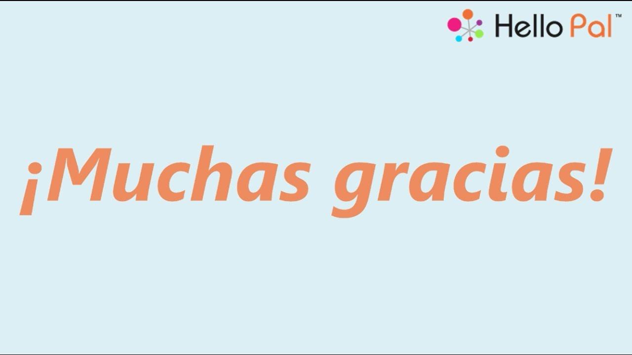 Cómo Se Dice Muchas Gracias En 7 Idiomas Diferentes Youtube