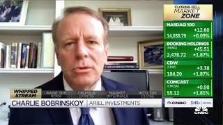 Ariel's Charles Bobrinskoy discusses earnings, retail sales