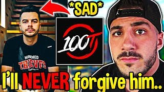 NICKMERCS Explains the REAL REASON Why He LEFT 100T! (Nadeshot SCAMMED?) - Fortnite Moments