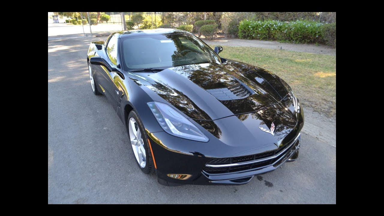 sold 2014 chevrolet corvette stingray coupe black youtube. Cars Review. Best American Auto & Cars Review