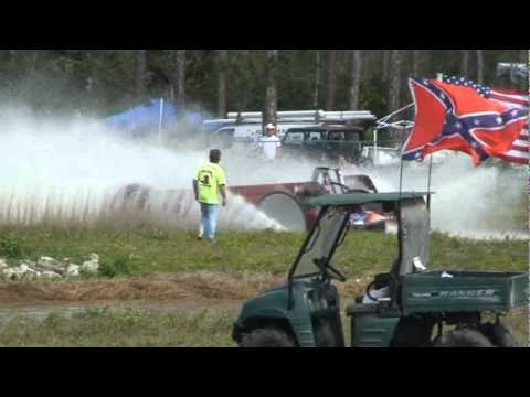 Amy Chesser winning Swamp Buggy Big Feature