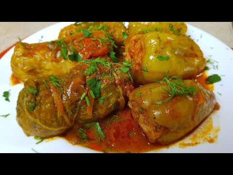 Рыбная ДОЛМА и рыбные 🐟ГОЛУБЦЫ из Пекинской капусты, цыганка готовит. 😋Gipsy Cuisine.👍