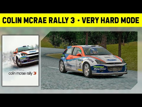 Colin McRae Rally 3 - Complete Championship - Very Hard Mode - 1080p