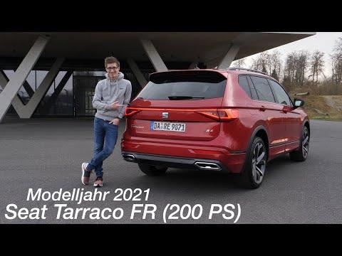 2021 Seat Tarraco FR 2.0 TDI (200 PS) 7-Gang-DSG 4Drive Langzeittest [4K] - Autophorie