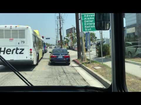 Lax Car Rental Bus To Enterprise