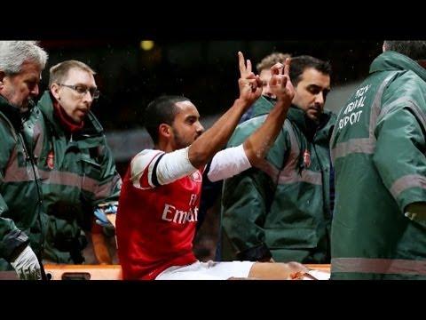 "Arsene Wenger über Walcott-Geste: ""Niemanden beleidigt"" | FA Cup: FC Arsenal - Tottenham Hotspur 2:0"