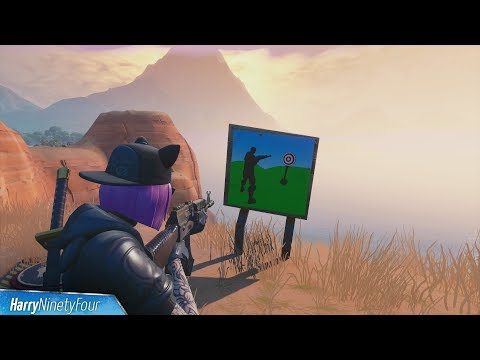 Wailing Woods, Retail Row & Paradise Palms Shooting Gallery Locations - Fortnite Season 7 Challenge