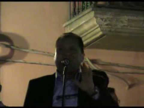 Pasqualino Diodati 05/06/09 Saluto Per Chiusura Campagna Elezioni Terranova 1°Parte