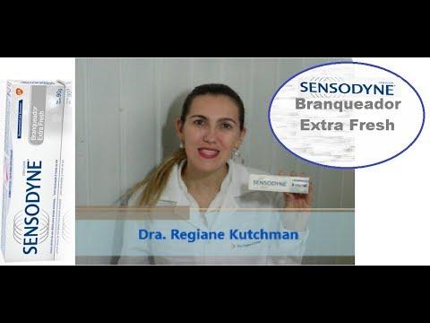 Sensodyne Branqueador Extra Fresh Com Dra Regiane Kutchman Youtube