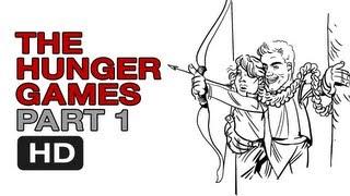 The Hunger Games Parody - Drunken Digest (1 of 7) Comic Spoof