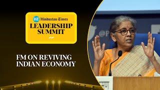 Nirmala Sitharaman on Covid, economy, GST row & farmers' protests l #HTLS2020
