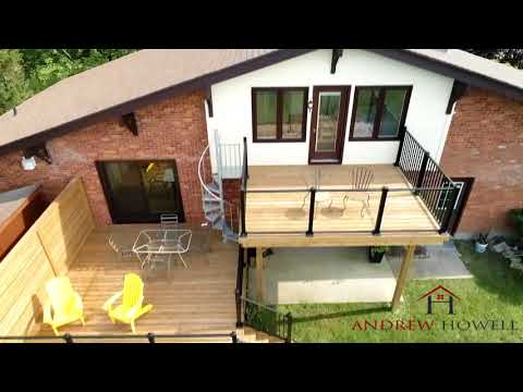 Dean Holtz Photography provides Professional Sarnia Aerial Real Estate Videography