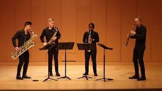 Schmitt: Quatour pour Saxophones, Op. 102, Mvt.  II