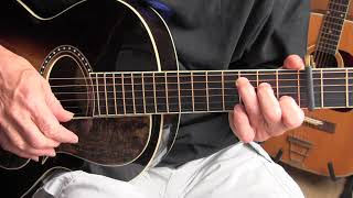 fingerpicking lesson - bull doze blues/going up the country - tab available