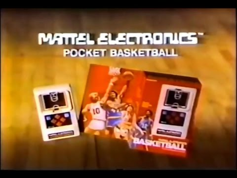 Mattel Electronics Basketball Commercial (1978)
