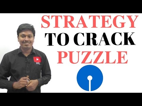 SBI PO 2017 |||| DAY 9 (STRATEGY TO CRACK A PUZZLE)