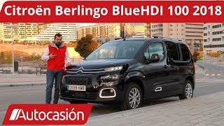 Citroën Berlingo Feel BlueHDI 100 2018 | Prueba / Test / Review en español | Autocasión
