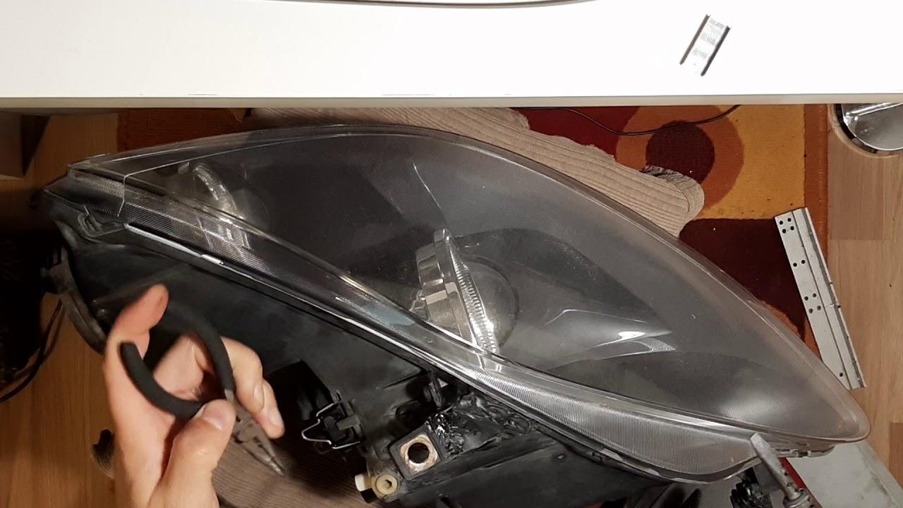 How To Fix Car Headlight Tab (Plastic Welding)