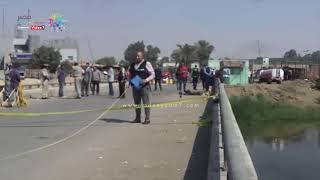 دوت مصر | شاهد.. اللقطات الأولى لإرهابي مسطرد بعد احباط تفجيره كنيسة العذراء
