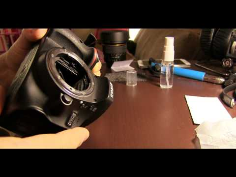 How To Properly Clean a DSLR Camera Body - Nikon D5100