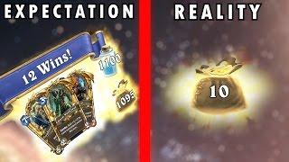 Hearthstone - Expectation vs Reality - Heroic Tavern Brawl