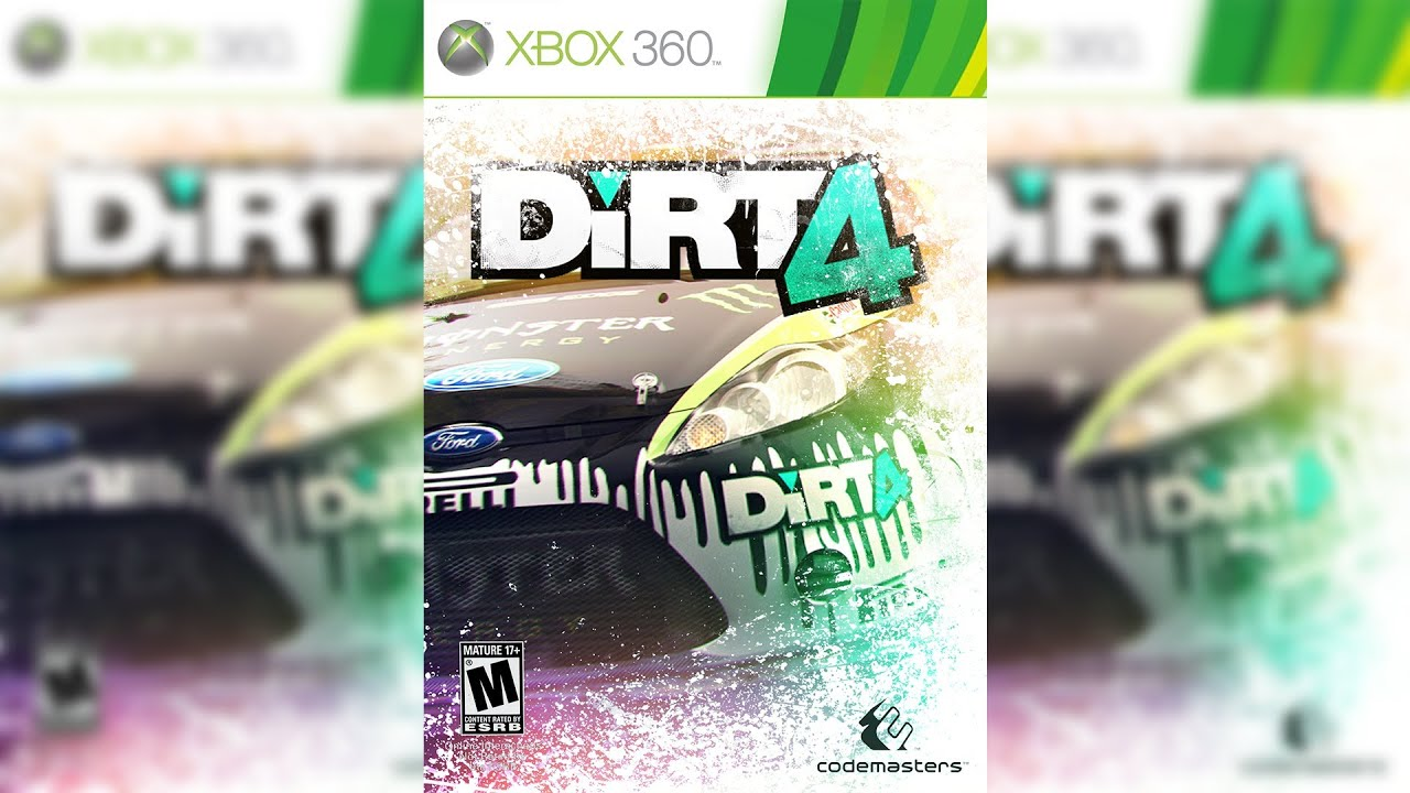 dirt 4 xbox cover design youtube. Black Bedroom Furniture Sets. Home Design Ideas
