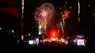 2015 Jack Daniel's Bash on Broadway: New Year's Eve in Nashville- Fireworks