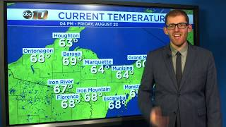 Upper Peninsula Weather Forecast - August 23, 2019