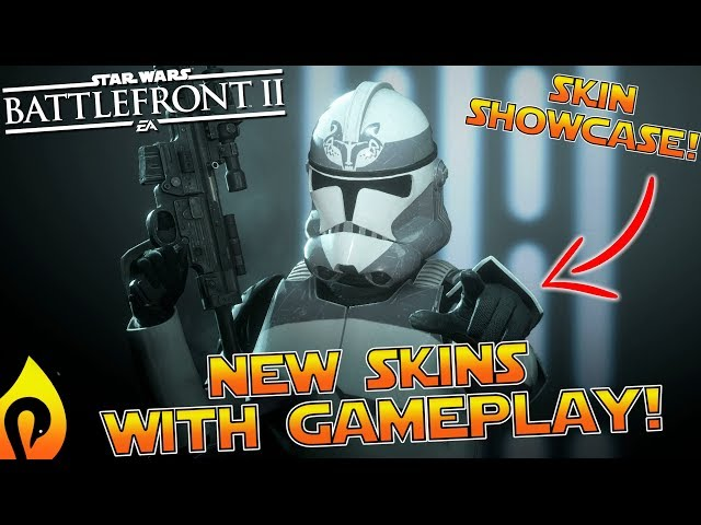 Star Wars Battlefront 2 - New Clone Skins With Gameplay