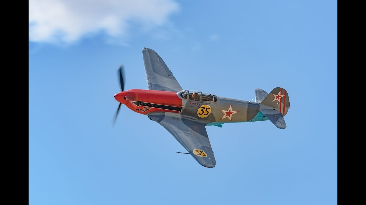 Old fighter plane aims to go 'Full Noise' at second Reno Air