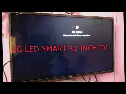 Lg 32 Inch Smart Led Tv After Six Months Lg Led Smart Tv Youtube