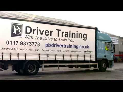 Rigid - Category C - Reversing Exercise for DVSA Test with PB Driver Training
