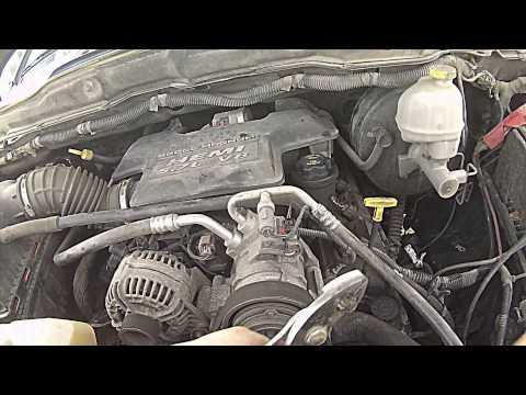 on 2004 Dodge Durango Engine Removal