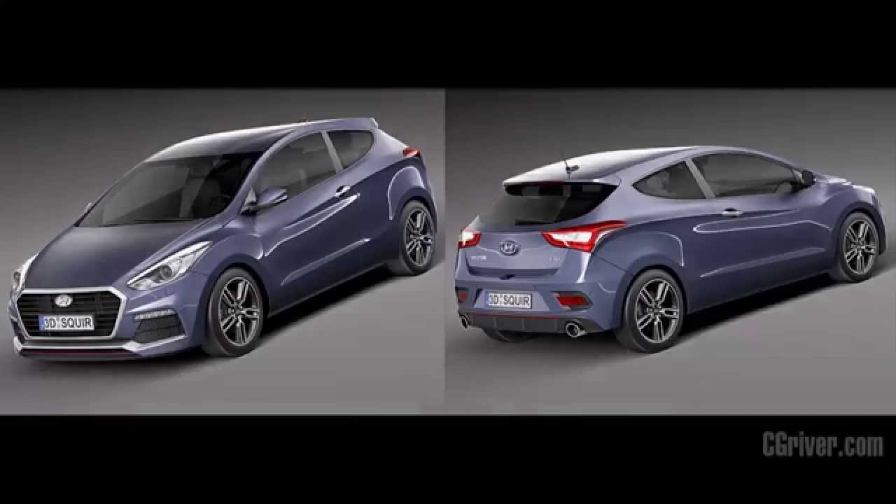 3d model hyundai i30 turbo 2015 youtube. Black Bedroom Furniture Sets. Home Design Ideas