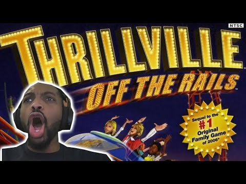 Thrillville Off The Rails Gameplay - A Gamer's Throwback Thursday (Pt. 7) |