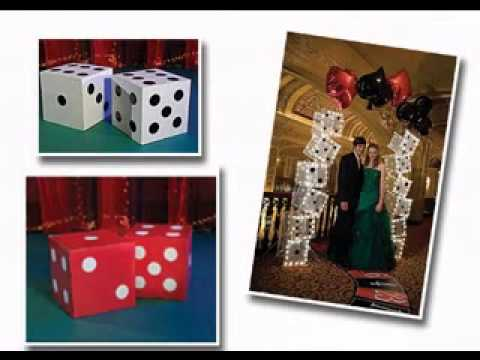 Creative Casino decorations ideas & Creative Casino decorations ideas - YouTube