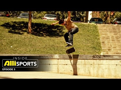 Inside AlliSports Episode 3  - Action Sports News With Paul Rodriguez, Volcom Pipe Pro and More