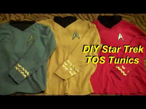 DIY Cheap and Easy Star Trek Costumes TOS
