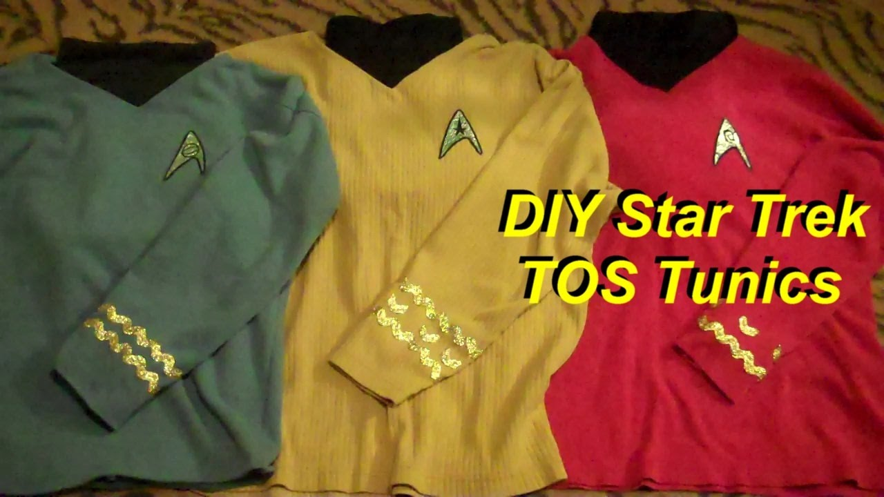 1ee2d0284 DIY Cheap and Easy Star Trek Costumes (TOS) - YouTube