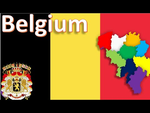 Belgium ,Western Europe Countries Of The World (Infographics,map,geography) 2020