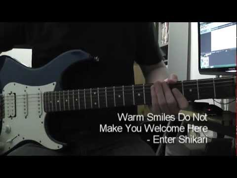 Warm Smiles Do Not Make You Welcome Here - Enter Shikari [Guitar Cover] mp3