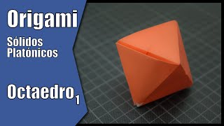 Octaedro 1 | Sólidos Platónicos | Origami