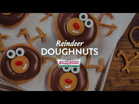 Randi West - Krispy Kreme Reindeer donuts